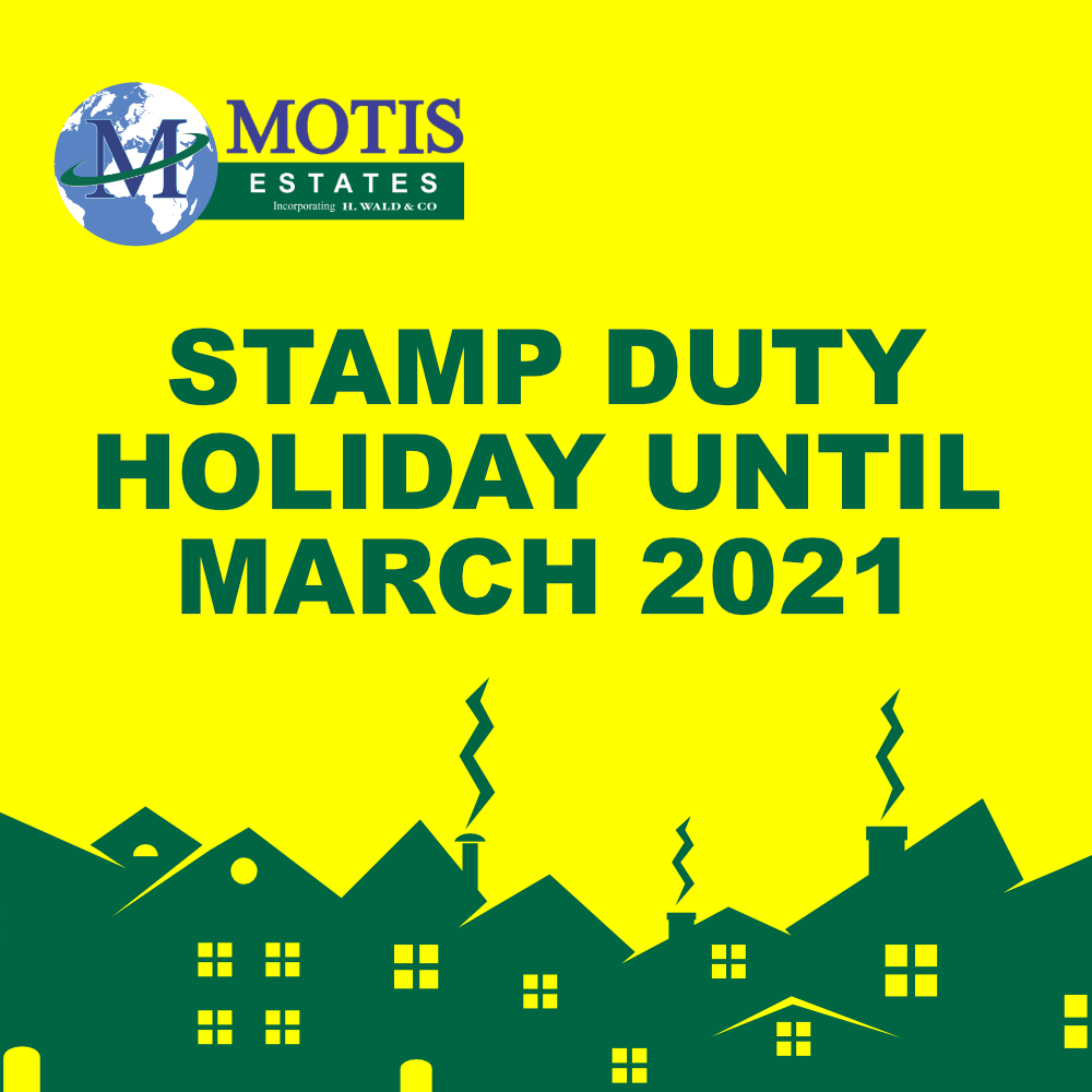 Stamp Duty holiday until March